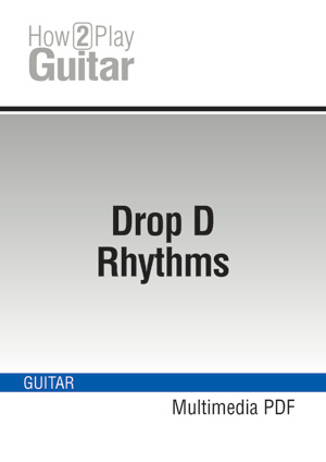 how to put guitar in drop d